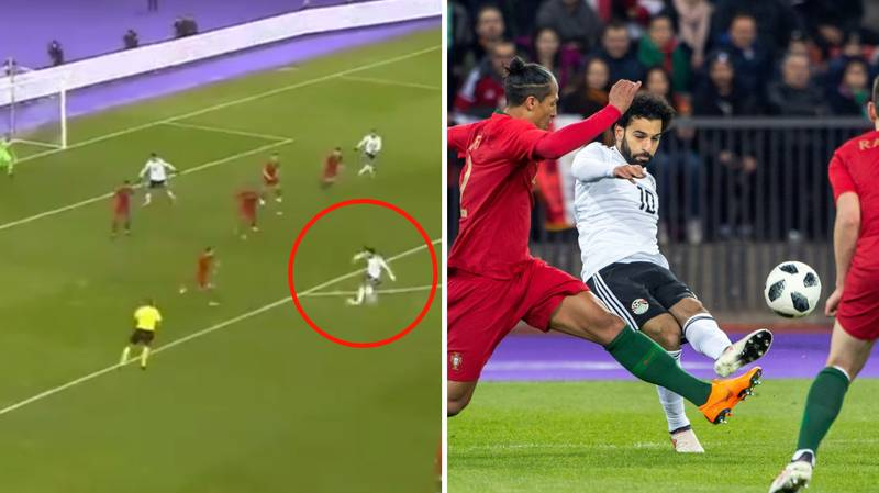 Watch: Mo Salah Continues Devastating Form With Lovely Goal Against Portugal