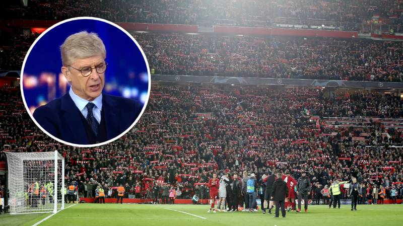 """Arsene Wenger Calls Anfield """"The Most Heated Stadium In Europe"""""""
