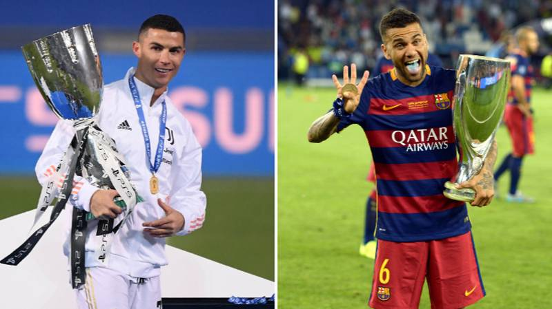 Cristiano Ronaldo Jumps Up In Top 10 Most Trophies List