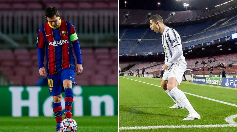 Juventus Finally Get Revenge On Barcelona After Trolling Them With 'Lionel Messi GOAT Tweet'