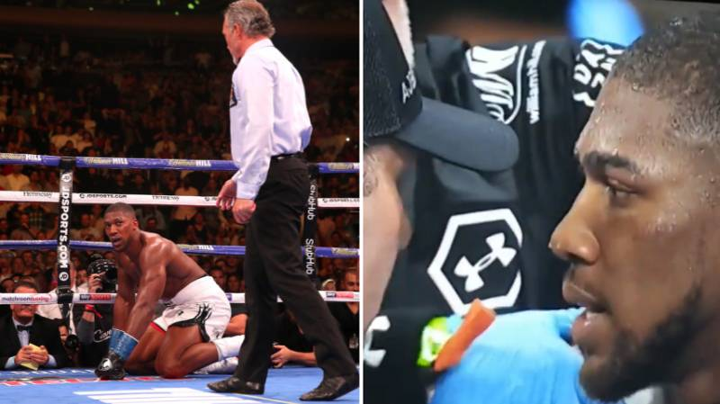 Anthony Joshua Clearly Knew He Was In Trouble Before The 7th Round