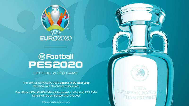PES 2020 Gets Exclusive Rights To Euro 2020 Tournament In Another Major Blow To FIFA 20