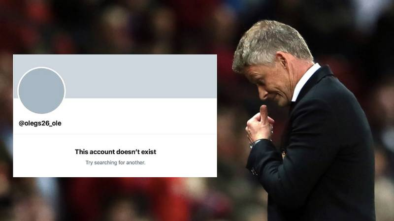 Ole Gunnar Solskjaer Sent Man Utd Fan Private Message Before Deactivating His Twitter Account