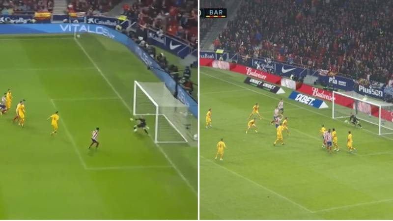 Marc-André ter Stegen Produced Two World Class Saves Against Atletico Madrid