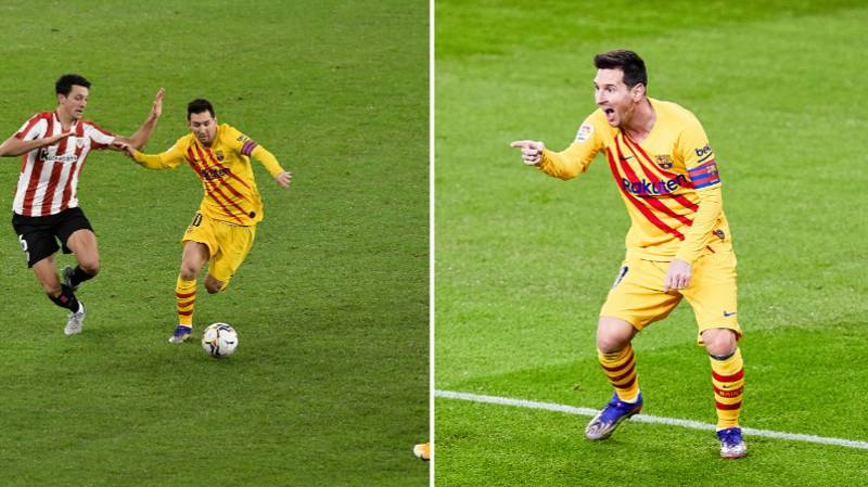 Goal Map Shows Where Lionel Messi Takes First Touch For All His Goals