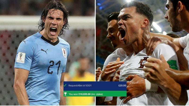 Punter Wins £10,000 From Brilliant £20 World Cup Bet