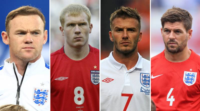 England's Top 25 Players Of All Time Have Been Named And Ranked By Fans