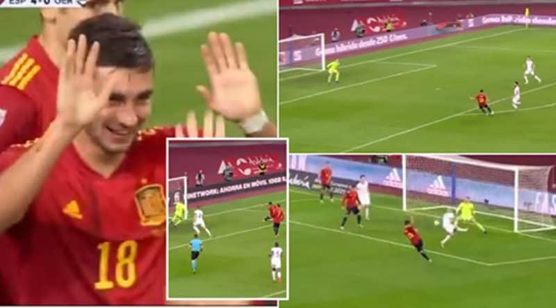 Spain Thrash Germany 6-0 As Ferran Torres Scores Sensational Hat-Trick