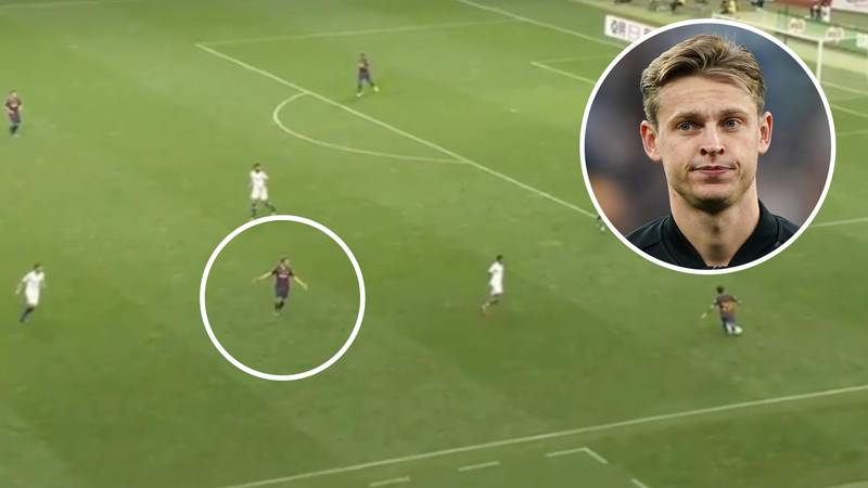 Frenkie De Jong Left Frustrated At Barcelona Players Who Refused To Play One-Twos