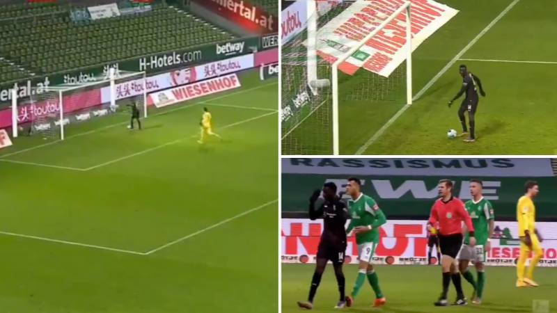Stuttgart Striker Silas Wamangituka Booked For Unsportsmanlike Conduct After Scoring The Most Disrespectful Goal