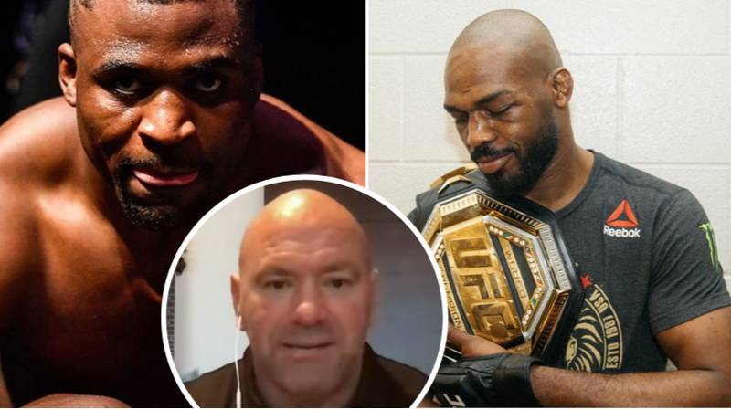 Dana White Gives Update On UFC Heavyweight Super-Fight Between Jon Jones And Francis Ngannou