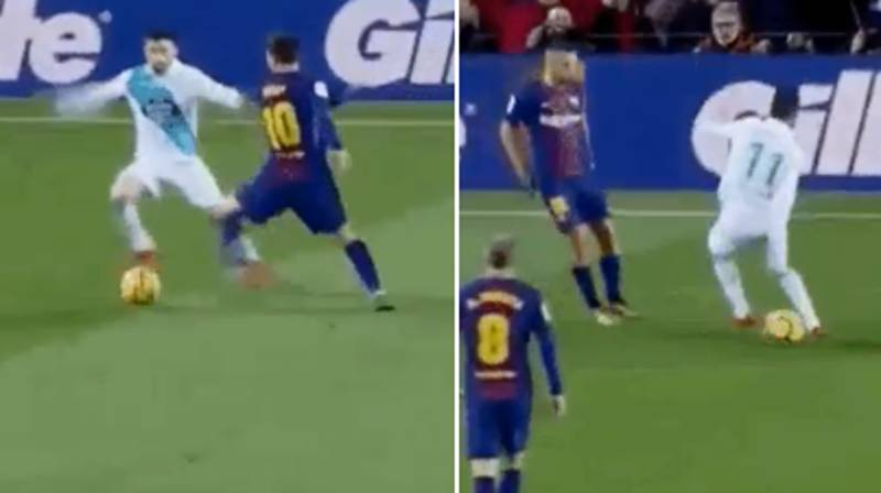 Watch: What Messi And Alba Did To Carles Gil Should Genuinely Be Illegal