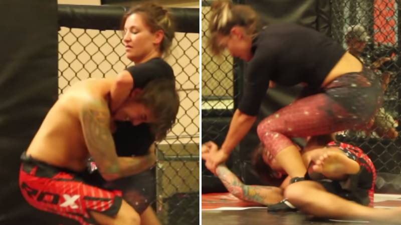 What Happened When Four Guys Fought Former UFC Star Miesha Tate Inside The Octagon