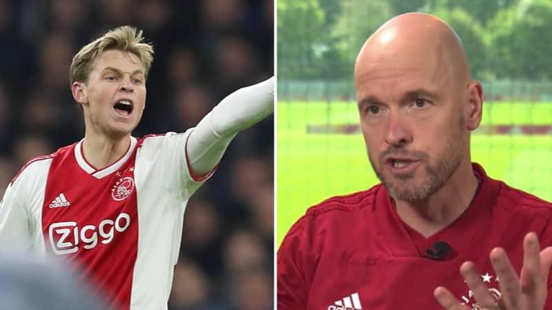 Ajax Coach Explains How He Got The Best Out Of Frenkie De Jong