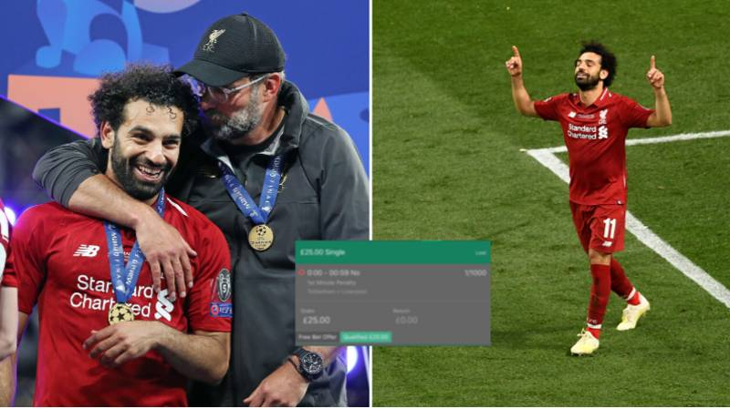 Football Fan's £25 Bet During Last Season's Champions League Final Is Still The Most Bizarre Bet Ever