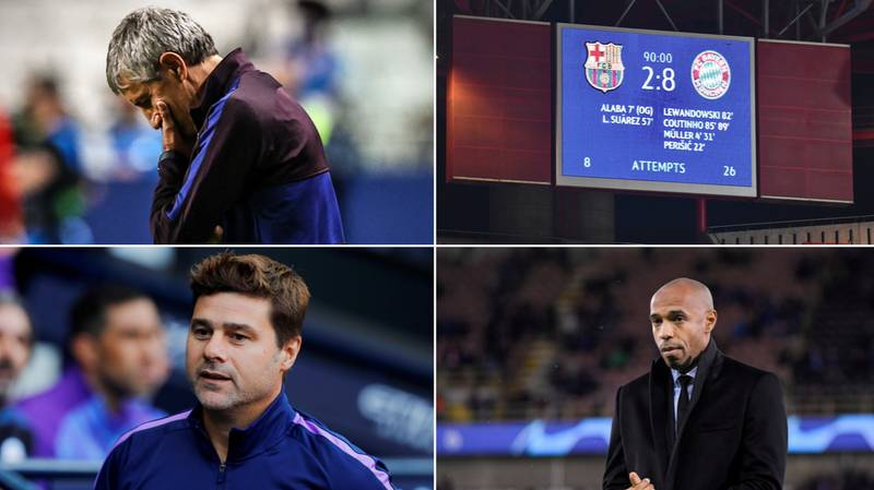 Thierry Henry On Barcelona's Shortlist To Replace Quique Setien