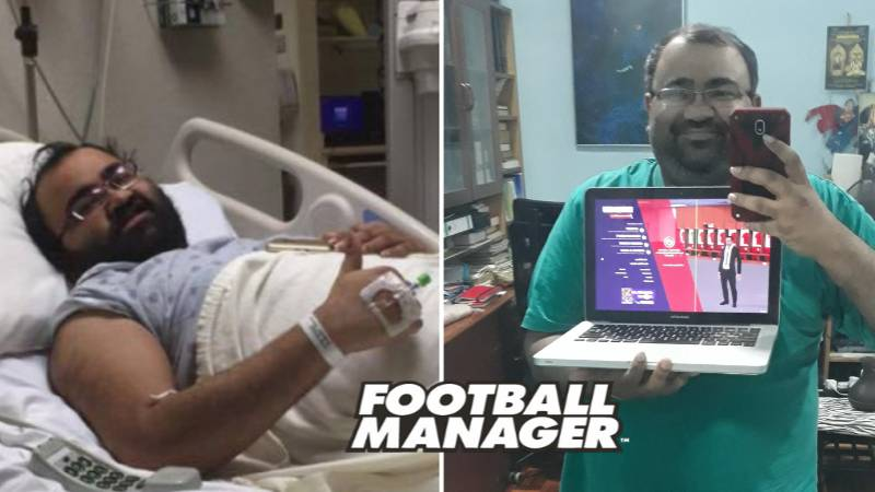 "Man Diagnosed With Rare Condition Left Doctors ""Amazed"" After Playing Football Manager"