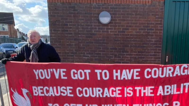 Football Fans Brutally Troll Liverpool For Banner Outside Training Ground After Defeat To Watford