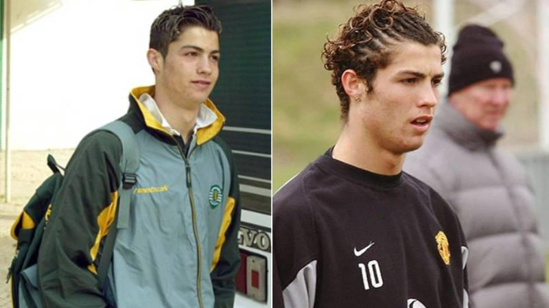 The Story Of Cristiano Ronaldo's Dressing Room Introduction At Manchester United Is Outstanding