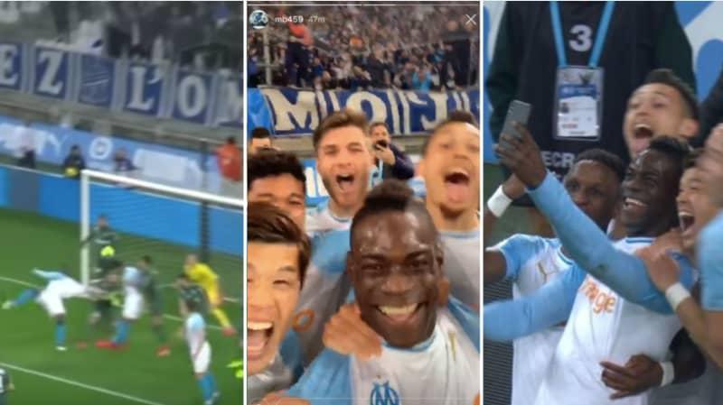 Mario Balotelli Scores Brilliant Scissor Kick, Then Uses iPhone To Upload Celebration To Instagram