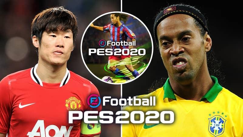 Brazilian Legend Ronaldinho Has A Lower Rating Than Ji-Sung Park In PES 2020