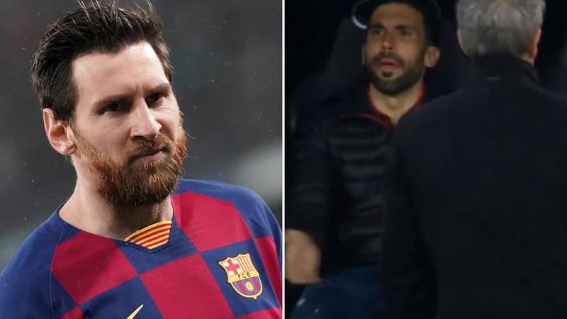 What Barcelona's Assistant Manager Said To Annoy Lionel Messi In El Clasico