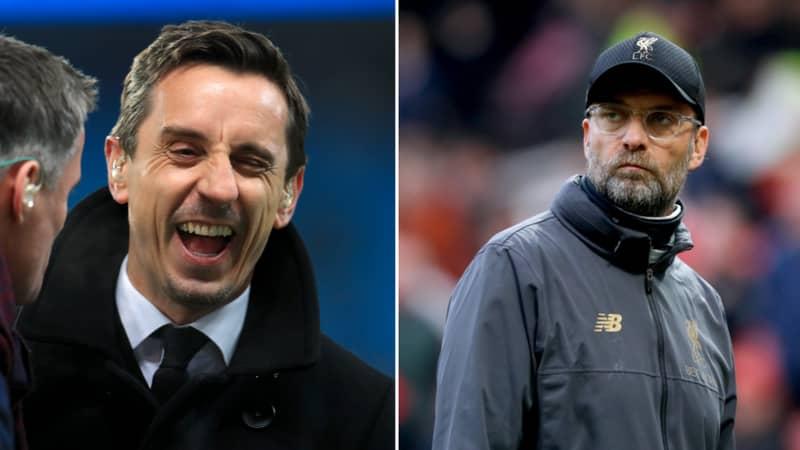 Manchester United Legend Gary Neville Trolls The Merseyside Derby With Savage Tweet