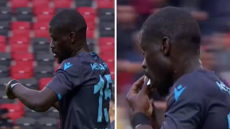 Trabzonspor Midfielder Badou Ndiaye Eats Manager's Note To Hide It From Opposition