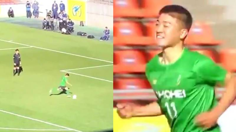 Watch: Ridiculous Penalty Technique Looks Like A FIFA Glitch