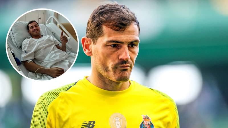 Iker Casillas Might Not Play Football Again After Suffering A Heart Attack