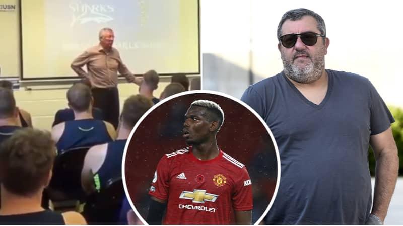 "The Time Sir Alex Ferguson Called Paul Pogba's Agent Mino Raiola A ""S***bag"""
