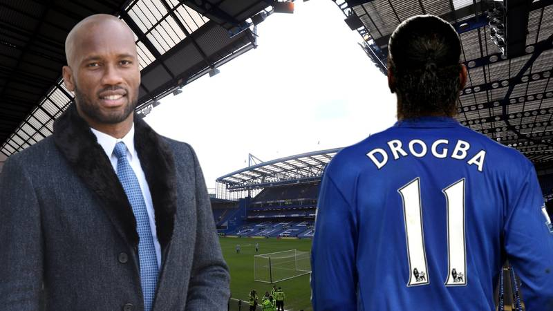 Didier Drogba Names His Dream Five-A-Side Team, Picks A Strange Choice For Striker