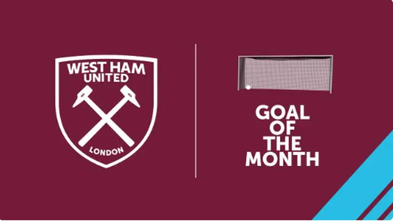 WATCH: West Ham's January Goal of the Month is Absolutely Brilliant