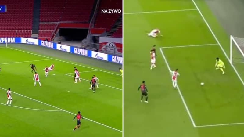 Nicolas Tagliafico Scores Shocking Own Goal For Ajax Against Liverpool