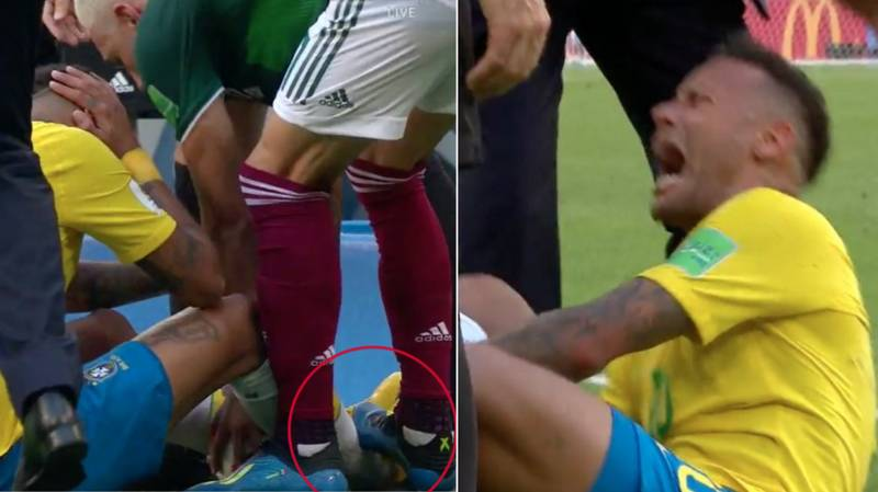 Neymar's 'Pathetic' Reaction To This Stamp Is Causing A Stir