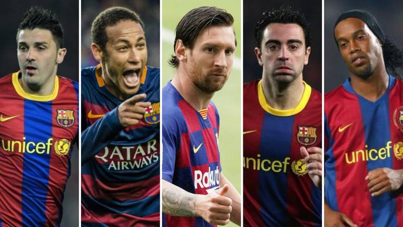 Barcelona's 50 Greatest Players Of All Time Have Been Ranked, Lionel Messi Is Only Third