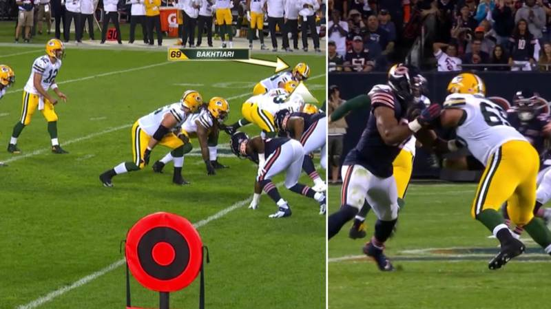 Cris Collinsworth Explains How David Bakhtiari Shut Down Khalil Mack Last Night