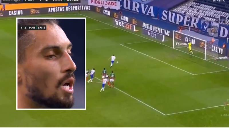 """What Happened When A Goalkeeper Told Alex Telles """"Chip Me Bro"""" During A Penalty"""