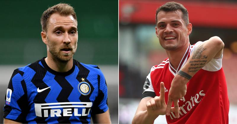 Arsenal Offered Christian Eriksen By Inter Milan In Swap Deal For Granit Xhaka