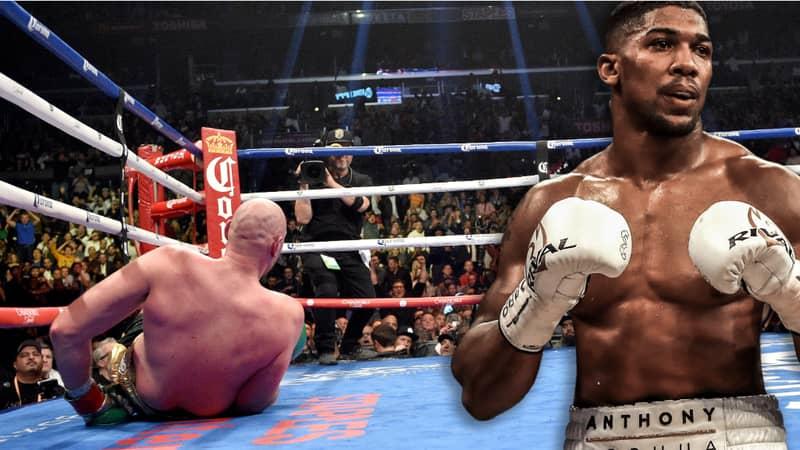 57% Of People Think Anthony Joshua Would Beat Tyson Fury