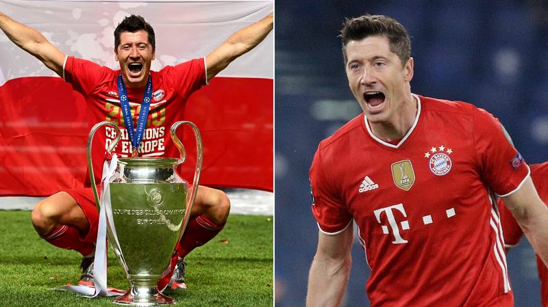 Robert Lewandowski Is Now The Third-Highest Scorer In Champions League History