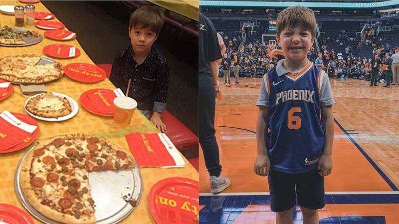 Kid With No Friends At Birthday Party Gets VIP NBA Treatment