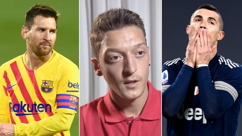 Mesut Ozil Answers Age Old Lionel Messi Vs Cristiano Ronaldo Question