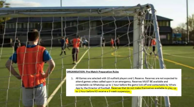 5-A-Side Team Have 14-Page Club Guide That Must Be Read Before Joining