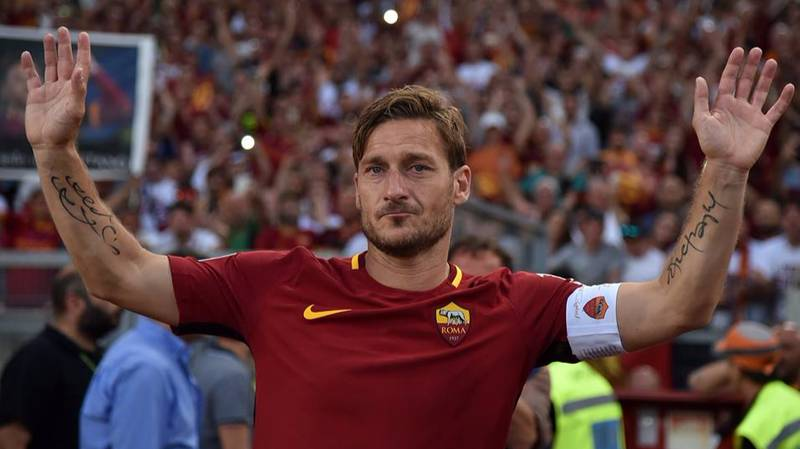 Italian Legend Francesco Totti Makes Decision On His Future