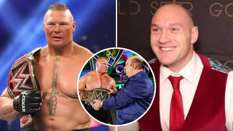 Tyson Fury Vows To 'Destroy' Brock Lesnar At WrestleMania 36 After Deontay Wilder Rematch