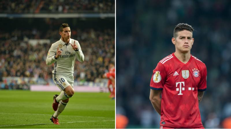 James Rodriguez Reportedly Wants To Return To Real Madrid
