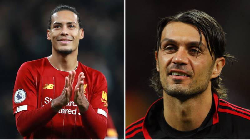 Liverpool Fan Causes Stir On Social Media After Comparing Virgil van Dijk To Paolo Maldini