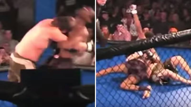 When Jon Jones Hit A 'Suplex' On His MMA Debut And Mercilessly Beat Down His Opponent
