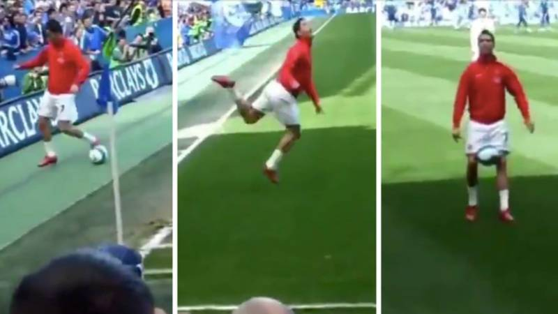 Cristiano Ronaldo Once Silenced Booing Chelsea Fans By Performing 'The Cockiest Move' Ever